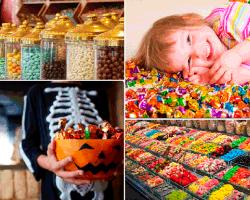 apensar dulces de colores