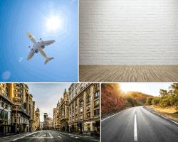 apensar avion carretera