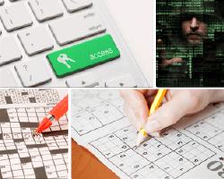 apensar teclado crucigrama sudoku