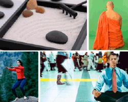 Apensar monje budista