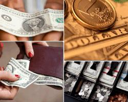 apensar billete moneda