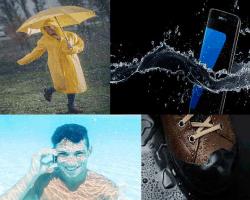 paraguas amarillo