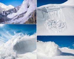 apensar avalancha de nieve