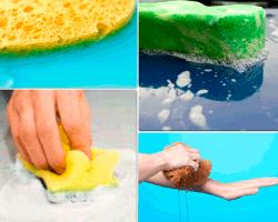 Apensar esponja