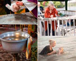 Apensar bautizando niño