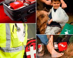 Apensar maleta de primeros auxilios