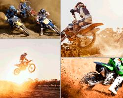 apensar motos saltando